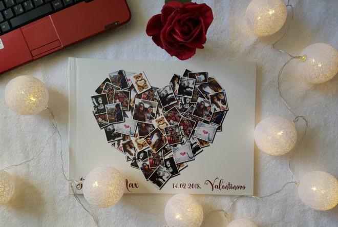 Za Valentinovo poklonite unikatan book
