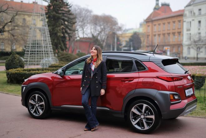 Marijana Batinić vozi KONA by Hyundai