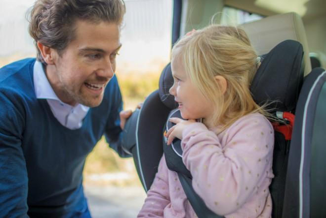 BeSafe predstavio novu iZi Flex FIX i-Size autosjedalica za veću djecu