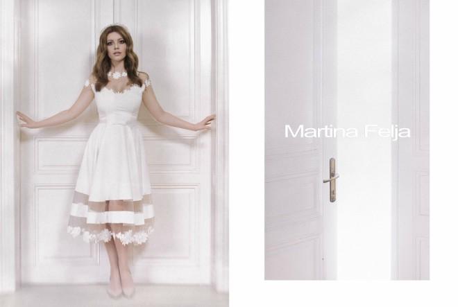 Nova kolekcija kratkih vjenčanica Martine Felje