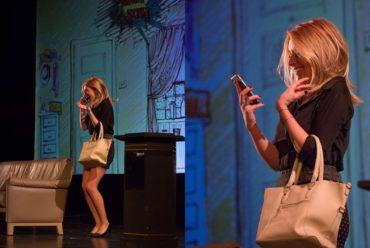 """U kazalište """"Luda kuća"""" stiže dugo očekivana interaktivna suvremena komedija s Anđelkom Prpić u glavnoj i jedinoj ulozi"""