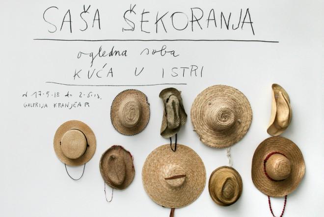 """Pogledajte izložbu """"Ogledna soba"""" Saše Šekoranje do 2. lipnja"""