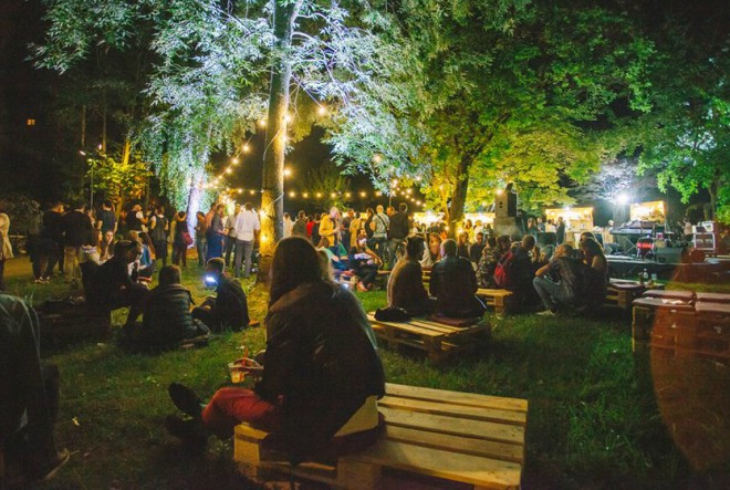 Jazz koncert na Rokovom perivoju i Cocktail Week party u parku Akademije likovnih umjetnosti