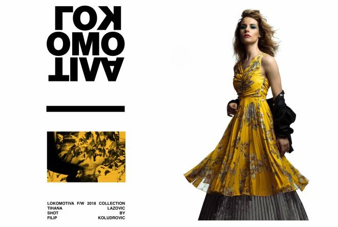 Odvažna, ženstvena i edgy kampanja nove kolekcije brenda Lokomotiva