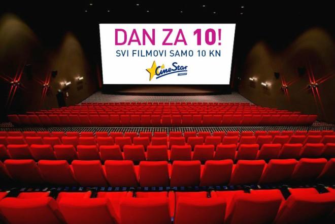 U svim CineStar kinima, kinoulaznice samo 10 kuna