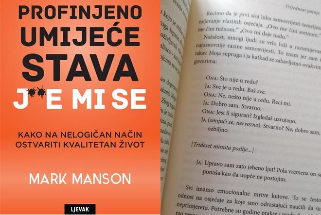 Mark Manson: Profinjeno umijeće stava j**e mi se