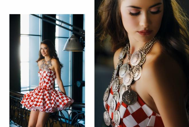 Kreacije Ivice Skoke predstavljat će  Hrvatsku na izboru za Miss svijeta