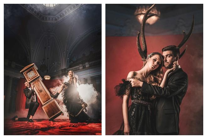 Neobične kreacije dolaze s modne manifestacije  Extravagant Gala