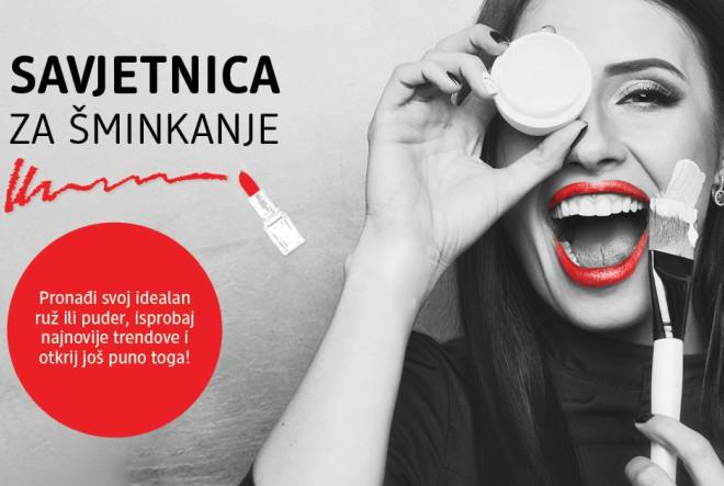 Super vijesti iz dm-a! Besplatno make-up savjetovanje!
