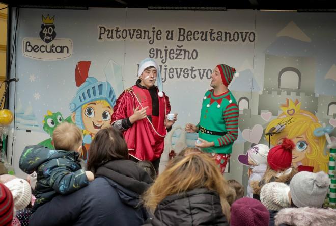 Becutanovi 'vitezovi' i 'princeze' ispunili Ledeni park na Tomislavcu