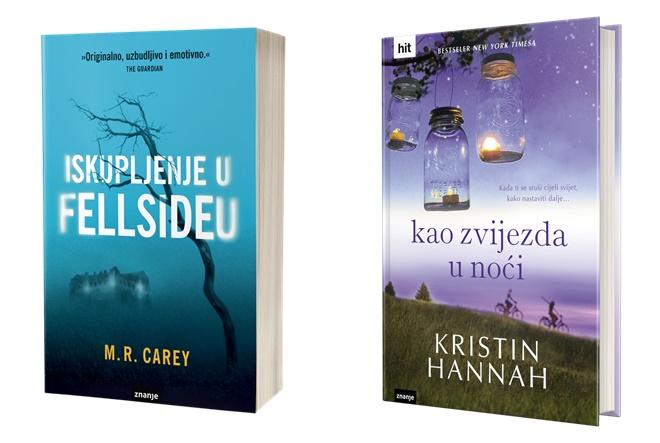 Znanje predstavlja nove romane autorice Kristin Hannah i M. R. Careyja