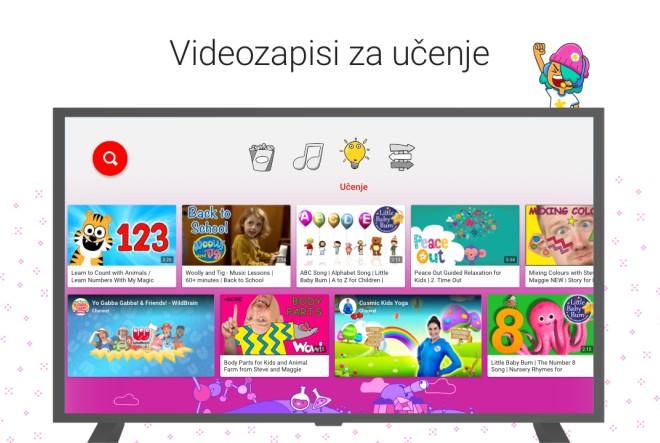 YouTube Kids omogućuje kontrolu sadržaja