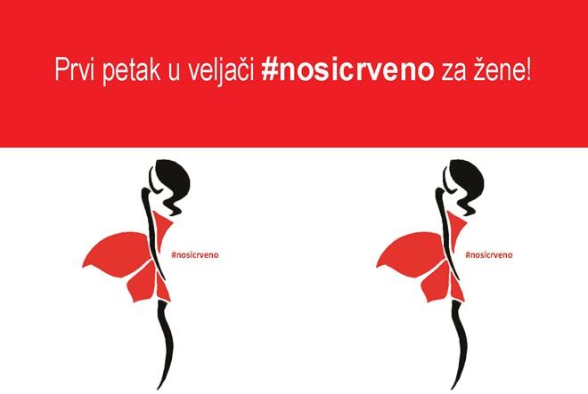 Prvi petak u veljači nosite crveno za žene