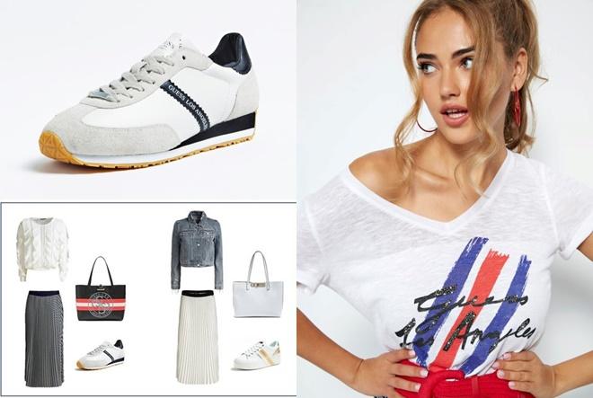 Ženstvene suknje, urbani traper i casual tenisice za sezonu u trendu
