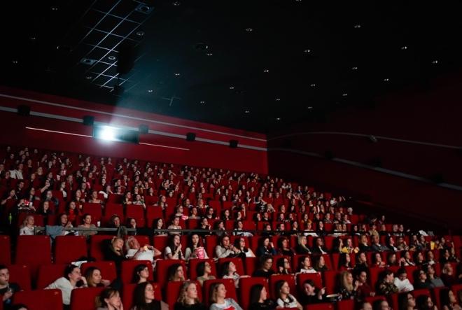 Brojni uzdasi oduševljenja nakon projekcije filmske romanse