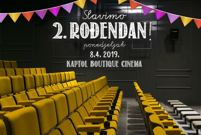 Proslavite rođendan Kaptol Boutique Cinema