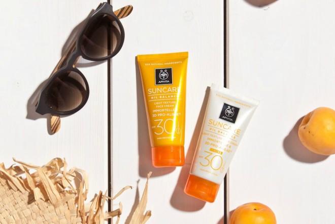 Bogati asortiman linije za sunčanje s proizvodom za iznimno osjetljivu kožu lica