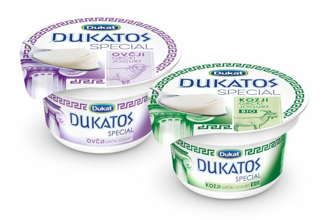 Dukat predstavio DUKATOS SPECIAL – liniju autentičnih grčkih jogurta od ovčjeg i BIO kozjeg mlijeka