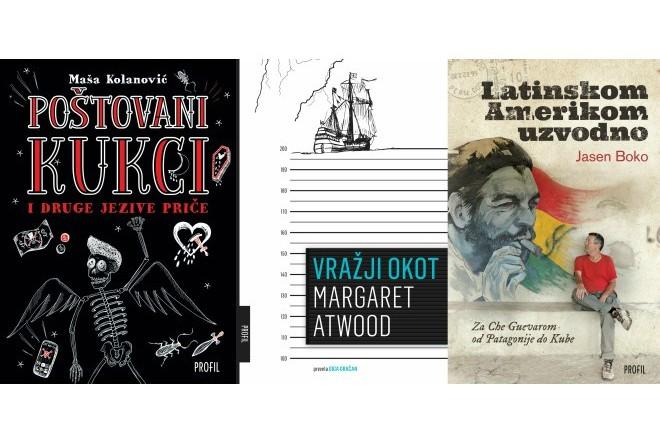 Profil: nove knjige Margaret Atwood, Maše Kolanović i Jasena Boke