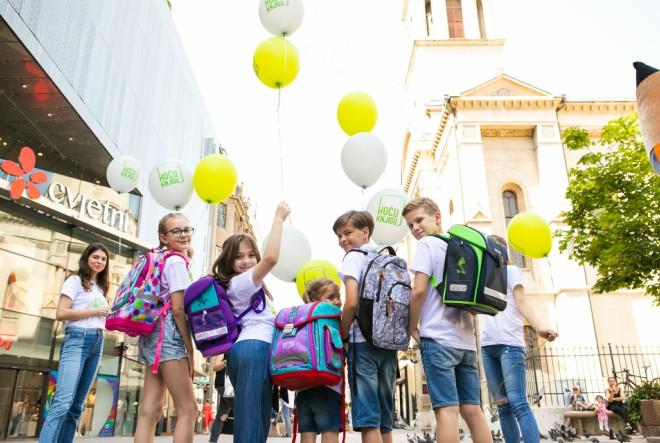 Uz Hoću knjigu odabir školskih torbi nikad lakši!