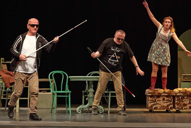 Predstave kazališta slijepih i slabovidnih Novi životu u Dubrovniku