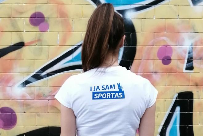 I ja sam sportaš – prva kolekcija majica s motivacijskim porukama