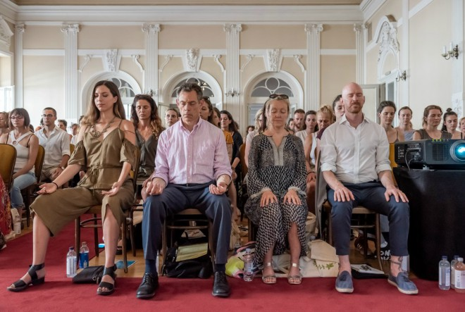Sjajni predavači održali zanimljiva predavanja o povezanosti joge i znanosti