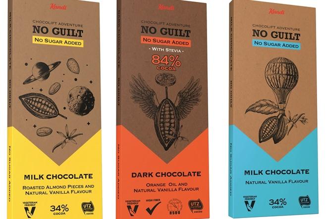 Uz Kandit No guilt čokolade bezbrižno uživajte u neodoljivim slasticama bez osjećaja grižnje savjesti