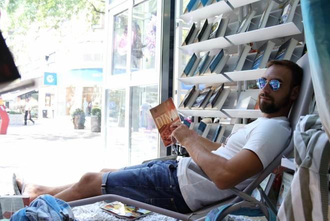 Znanje predstavlja prvi živi književni izlog u Hrvatskoj