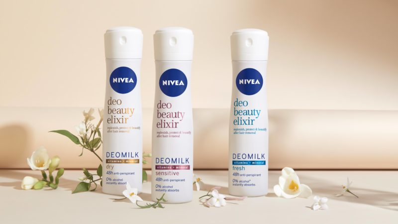 NIVEA predstavlja prvi Beauty elixir deomilk