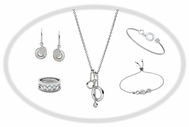 Jedinstveni dodaci u novoj Fossil kolekciji srebrnog nakita