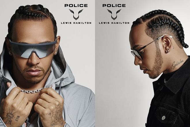 Nova kolekcija naočala za Police, koju je dizajnirao Lewis Hamilton, predstavljena na F1TM Grand Prixu u Italiji