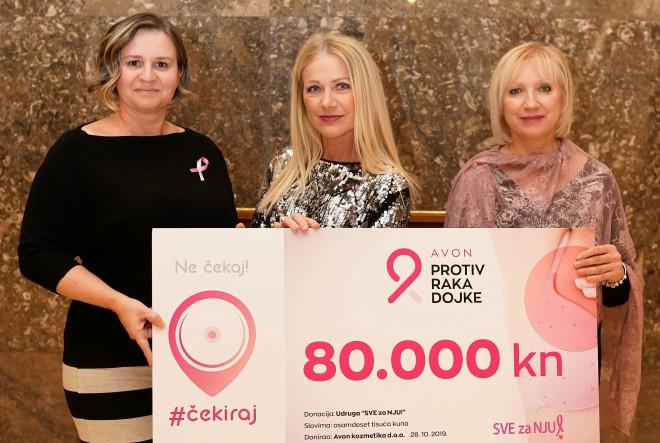 Avon donirao 80.000 kn udruzi SVE za NJU!