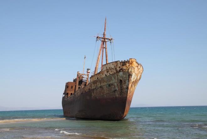 Veličanstvene olupine brodova