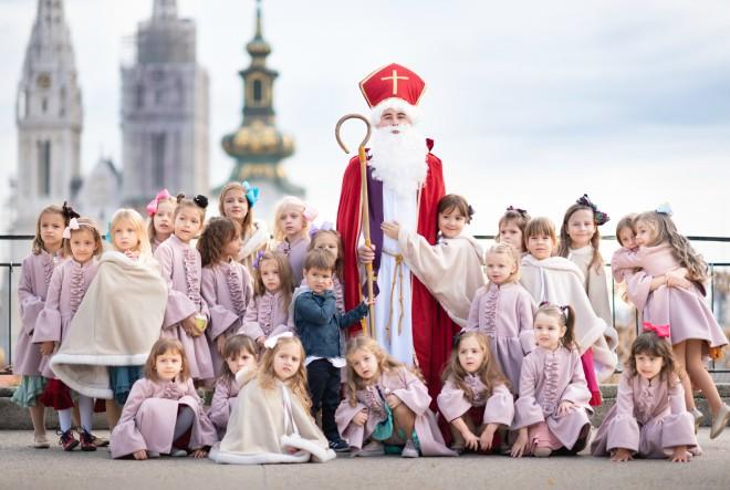Grad svetog Nikole i službeno najprivlačnije dječje adventsko događanje u Zagrebu