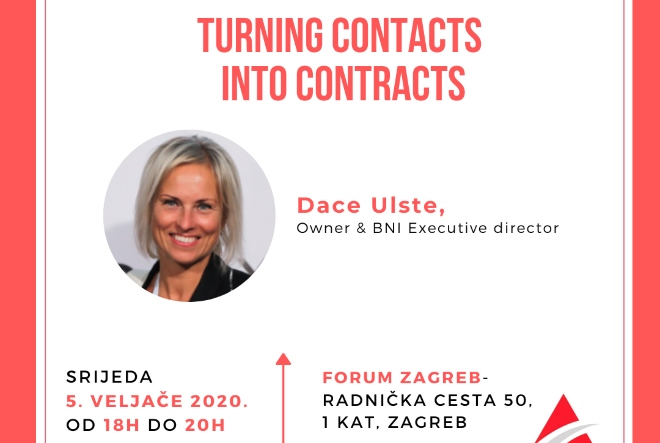 Turning Contacts into Contracts – Pretvorite kontakte u ugovore