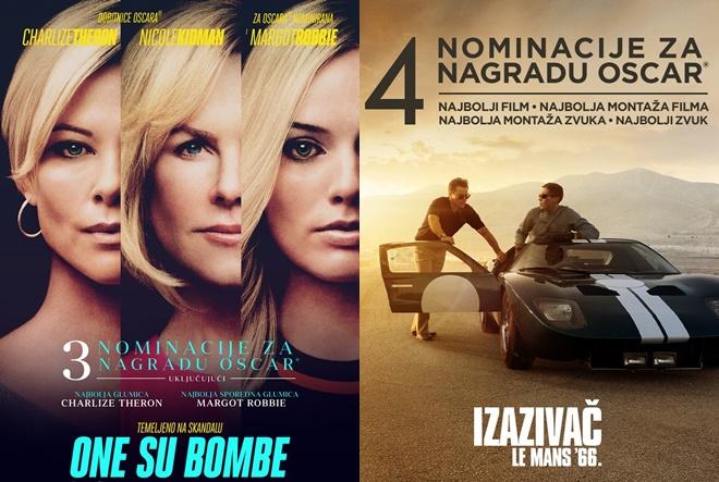 Od 30. siječnja 16. Oscar revija u CineStaru