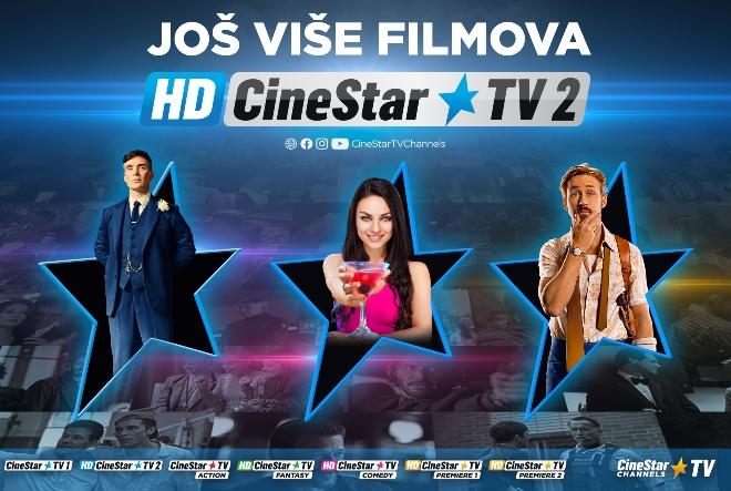CineStar TV Channels postao bogatiji za još jedan filmski kanal