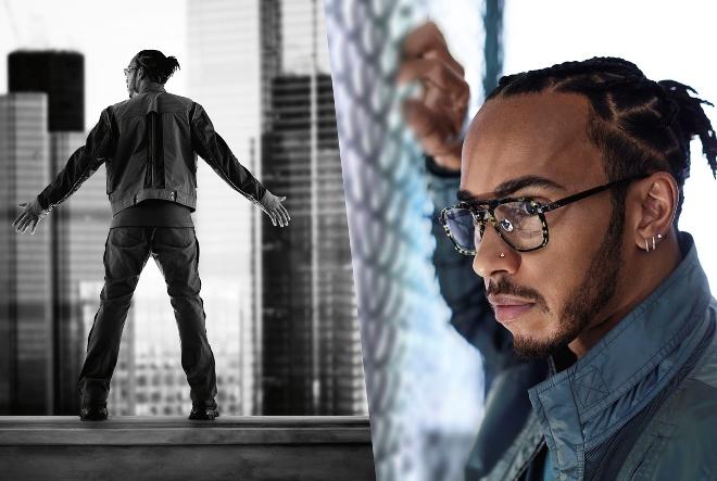 Police i Lewis Hamilton u objektivu slavnog fotografa Rankina