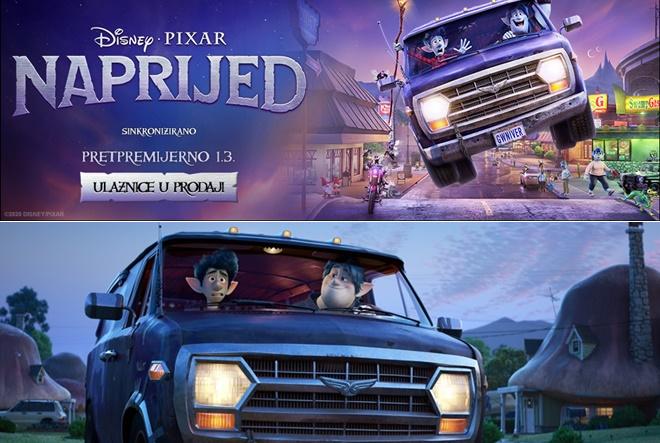 'Naprijed', nova animacija Disney – Pixar radionice