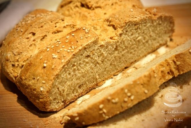 Brzi beskvasni kruh