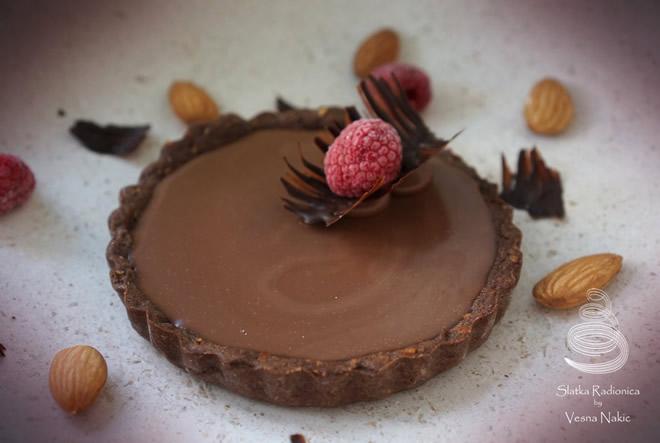 Fantastični čokoladni tart!