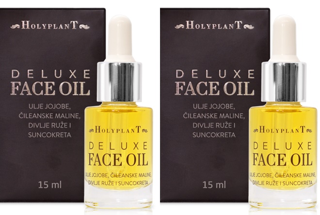 Isprobajte Holyplant Deluxe face oil