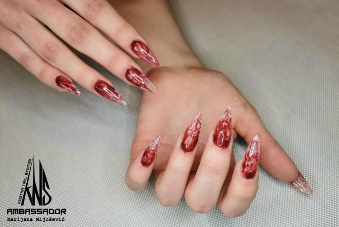 Nail art inspiracija