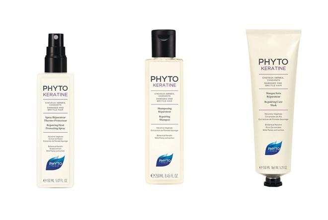 Biljni keratin iz laboratorija Phyto vraća život suhoj i oštećenoj kosi