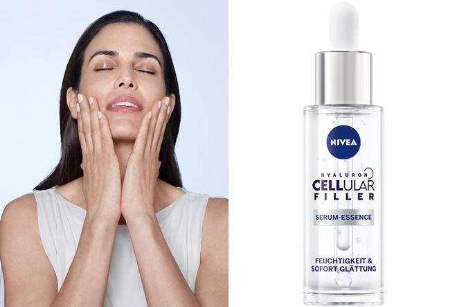 Vratite koži mladenački sjaj uz NIVEA Hyaluron Cellular Filler serum esenciju