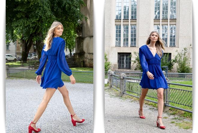 Aleksandra Dojčinović predstavlja haljinu u boji sezone