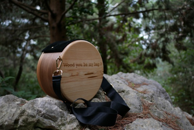 """Wood you be my bag?"" YES!"