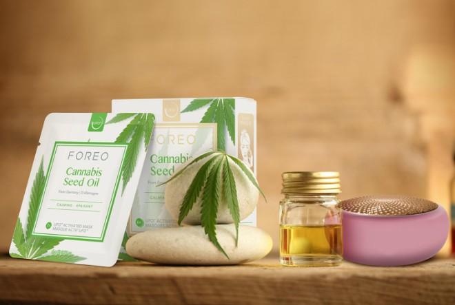 FOREO lansira masku obogaćenu uljem sjemenki konoplje
