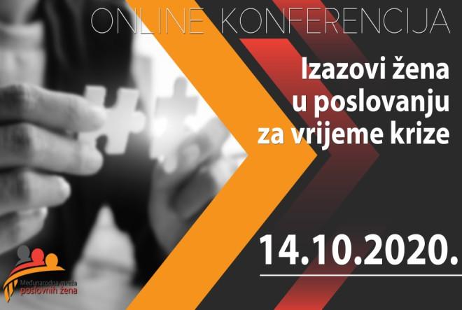 Detaljan program konferencije: Izazovi žena u poduzetništvu za vrijeme krize
